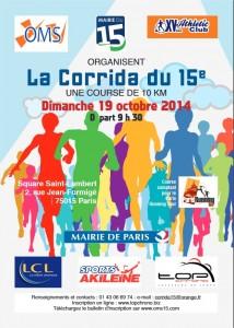 corrida du 15ème 2014