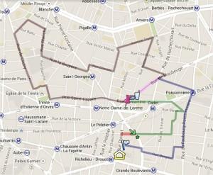10Km 9ème 2014 parcours