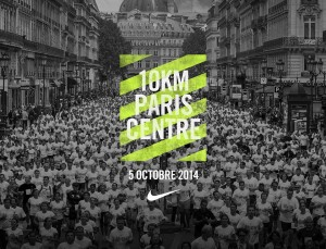 10Km Paris centre Nike 2014