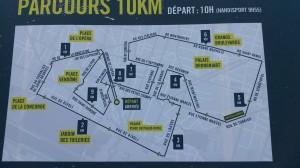 10Km Paris centre Nike 2014 parcours