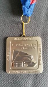 10Km du 19ème 2015 medaille
