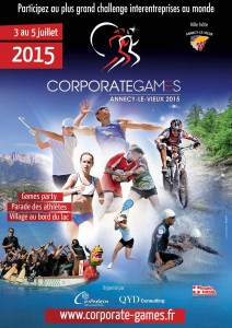 corporate games annecy affiche