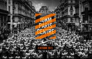 10Km Paris centre Nike 2015 - affiche