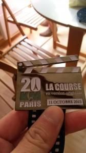20Km de Paris 2015 médaille