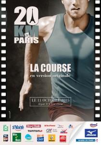 20Km de Paris 2015 affiche