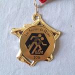 les foulées du 12ème 2016 - médaille