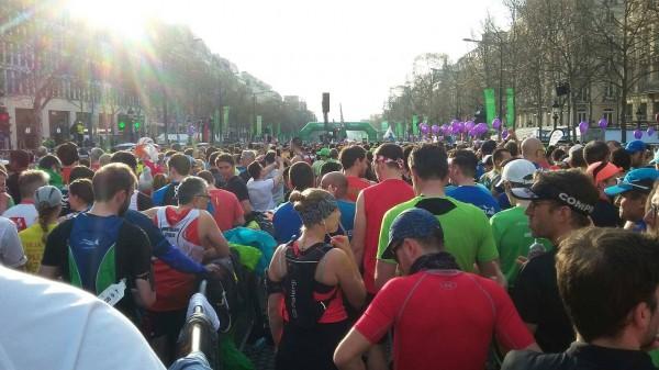 marathon de paris 2018 - depart