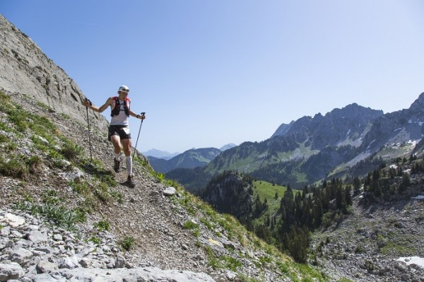 trail de la valle du brevon - coureur