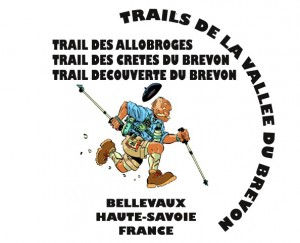 trail de la valle du brevon - logo - texte