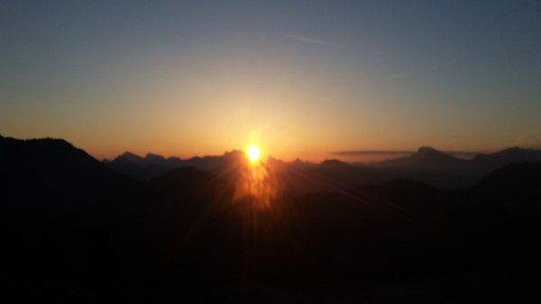 trail allobroges lever soleil